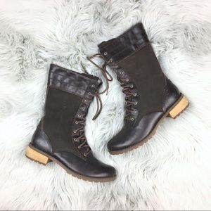 Timberland Brown Bethel Heights Lace Up Boots